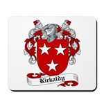 Kirkaldy Family Crest Mousepad