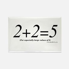 2+2=5 - Rectangle Magnet