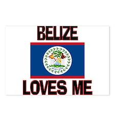 Belize Loves Me Postcards (Package of 8)