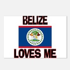 Belize Loves Me Postcards (Package of 8)