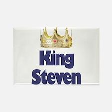 King Steven Rectangle Magnet