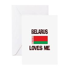 Belarus Loves Me Greeting Card
