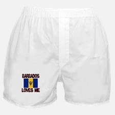 Barbados Loves Me Boxer Shorts