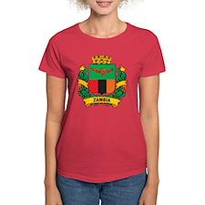 Stylish Zambia Crest Tee