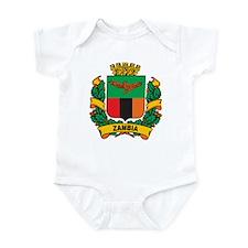 Stylish Zambia Crest Infant Bodysuit