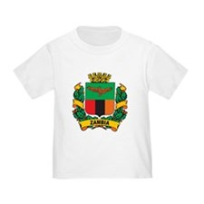 Stylish Zambia Crest T