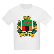Stylish Zambia Crest T-Shirt