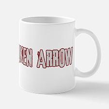 BROKEN ARROW (distressed) Mug