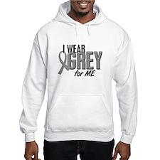 I Wear Grey For ME 10 Jumper Hoody