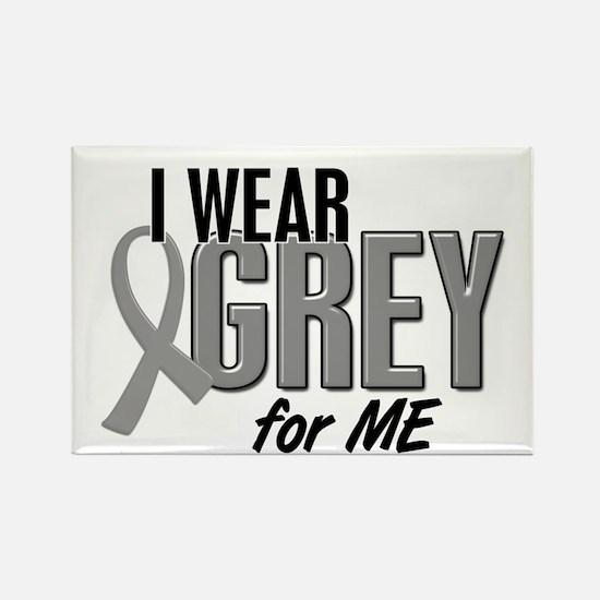 I Wear Grey For ME 10 Rectangle Magnet