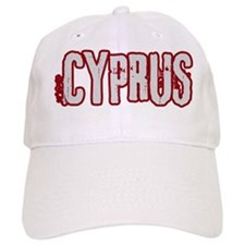 CYPRUS (distressed) Baseball Cap