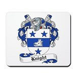 Knight Family Crest Mousepad