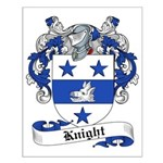 Knight Family Crest Small Poster