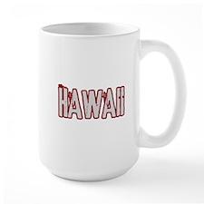 HAWAII (distressed) Mug