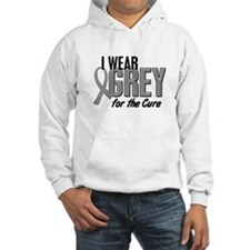 I Wear Grey For The Cure 10 Jumper Hoody