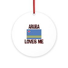 Aruba Loves Me Ornament (Round)