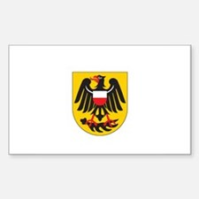 ROTTWEIL Rectangle Decal