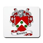 Knowles Family Crest Mousepad