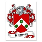 Knowles Family Crest Small Poster