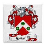 Knowles Family Crest Tile Coaster