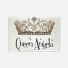 Queen Angela Rectangle Magnet