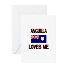 Anguilla Loves Me Greeting Card