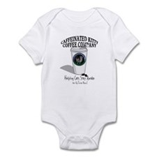 Caffeinated Kitty Latte Infant Bodysuit