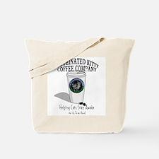 Caffeinated Kitty Latte Tote Bag