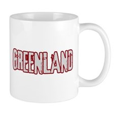 GREENLAND (distressed) Mug
