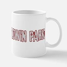 BALDWIN PARK (distressed) Mug