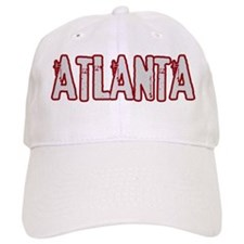 ATLANTA (distressed) Baseball Cap