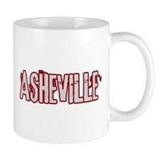 ASHEVILLE (distressed) Mug
