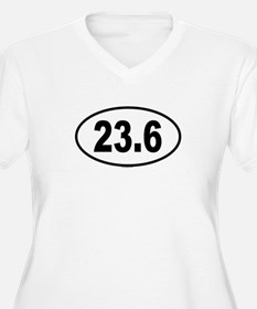 23.6 Womes Plus-Size V-Neck T-Shirt