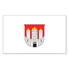 SALZBURG Rectangle Decal