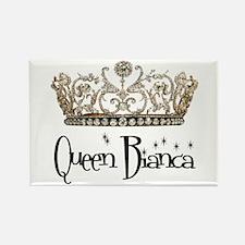 Queen Bianca Rectangle Magnet