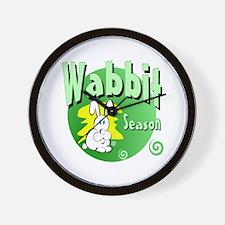 Bunny Wabbit Wall Clock