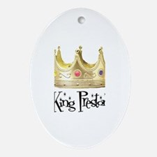 King Preston Oval Ornament