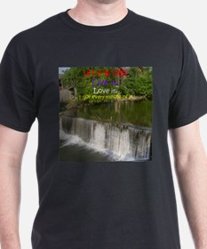 The Old Mill Waterfall T-Shirt