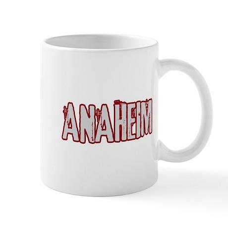 ANAHEIM (distressed) Mug