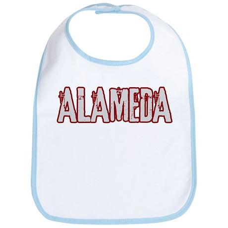 ALAMEDA (distressed) Bib