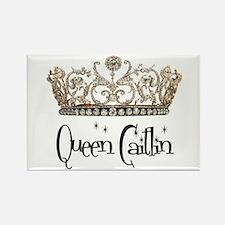 Queen Caitlin Rectangle Magnet