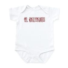 EL SALVADOR (distressed) Infant Bodysuit