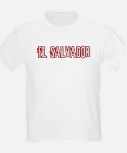 EL SALVADOR (distressed) T-Shirt