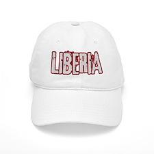 LIBERIA (distressed) Baseball Cap