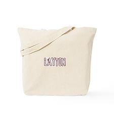 LAYTON (distressed) Tote Bag