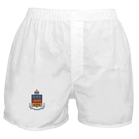 QUEBEC PROVINCE Boxer Shorts