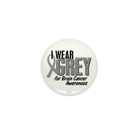 I Wear Grey For Awareness 10 Mini Button