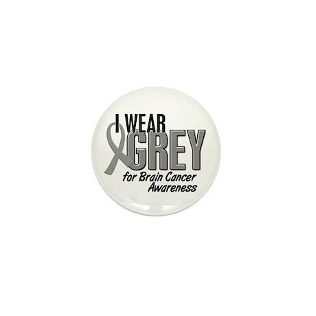 I Wear Grey For Awareness 10 Mini Button
