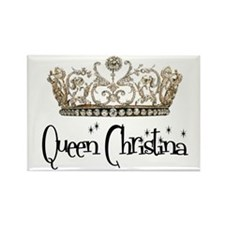 Queen Christina Rectangle Magnet