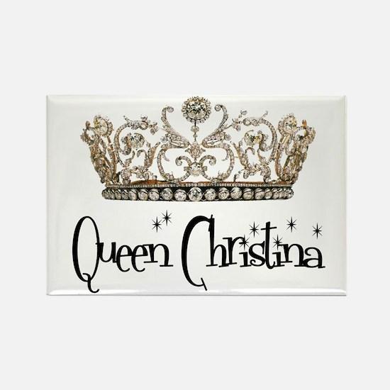 Queen Christina Rectangle Magnet